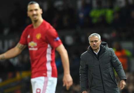 Mourinho no es optimista sobre Ibra