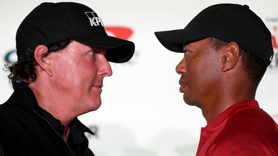 Tiger Woods Phil Mickelson 21112018