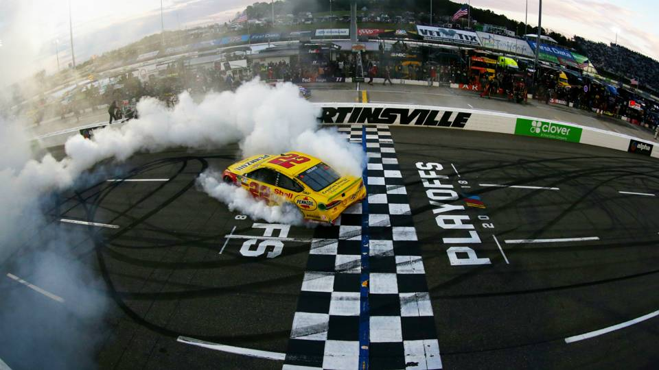 Joey Logano Monster Energy NASCAR Cup Series First Data 500 28102018