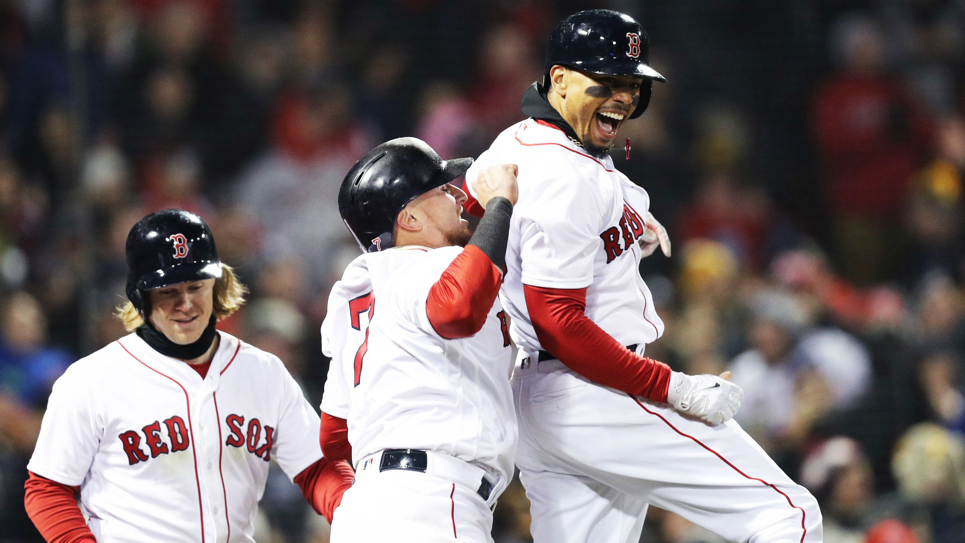 MLB wrap: Red Sox clinch AL East with win over Yankees
