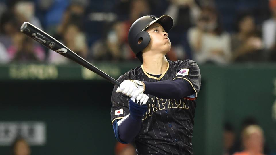 Shohei Ohtani Japan v Netherlands Baseball 11132016