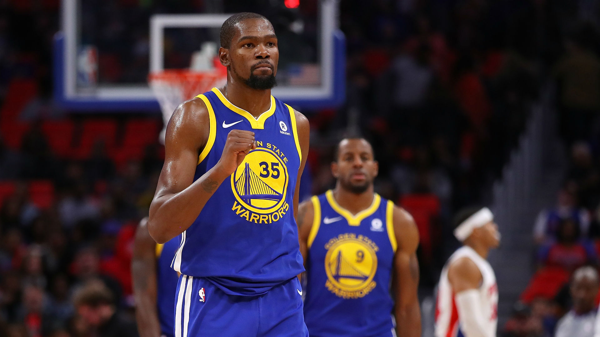 Kevin Durant Golden State Warriors vs Detroit Pistons 08122017