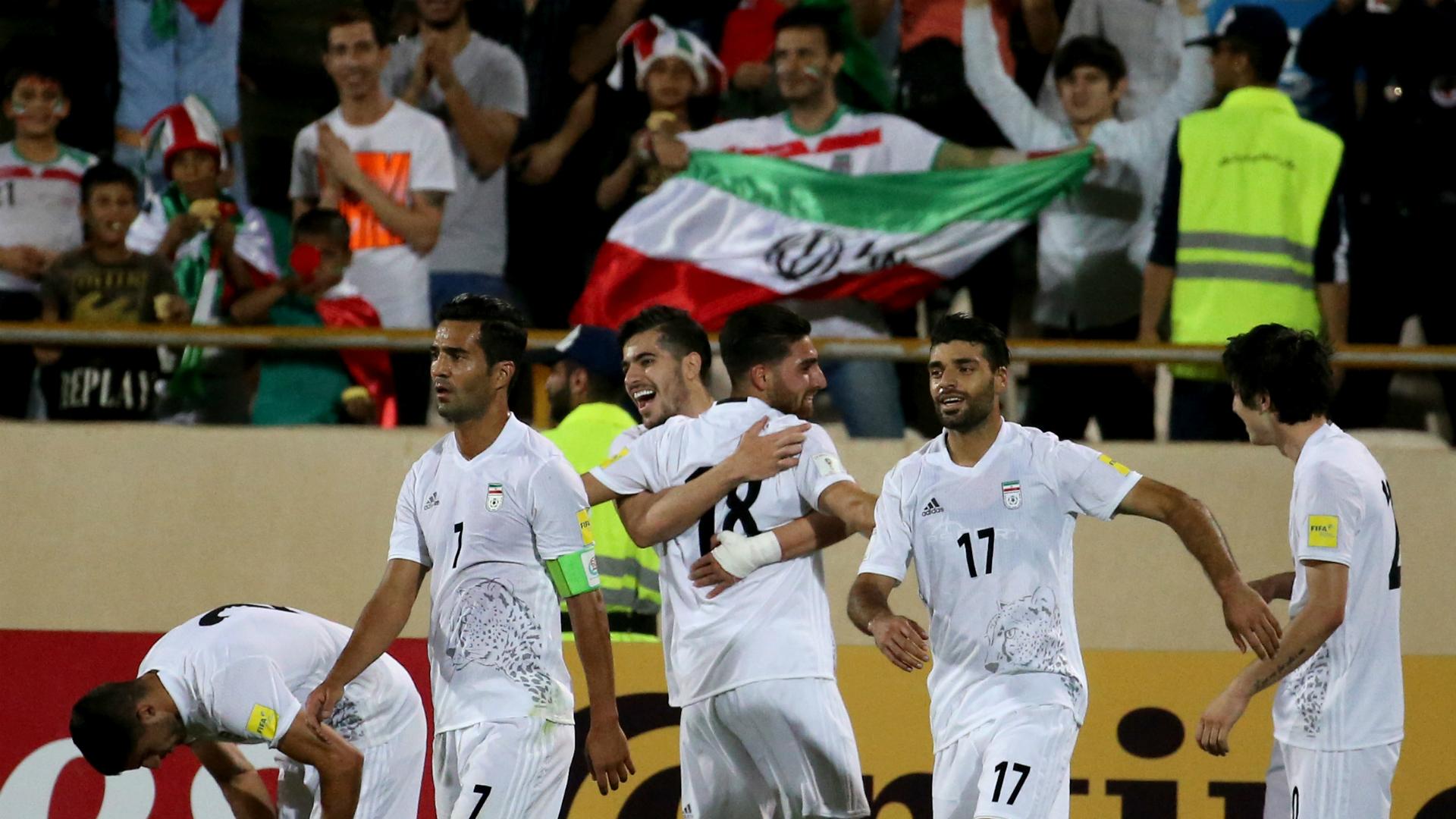 Irán, tercer equipo en alcanzar el cupo directo a Rusia 2018