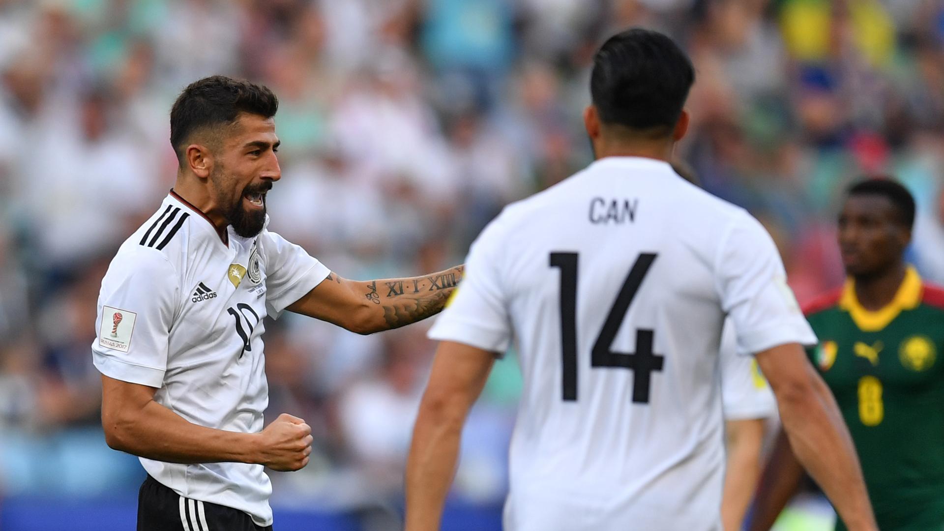 Alemania y Chile a semifinales de Confederaciones