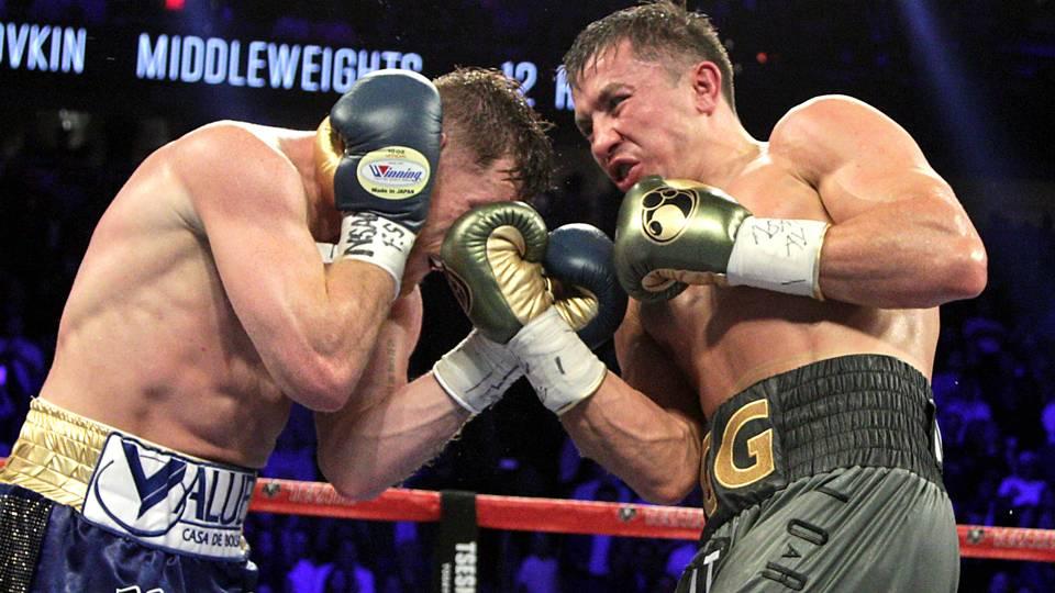 Gennady Golovkin v Canelo Alvarez WBC, WBA and IBF middleweight championship fight 16092017