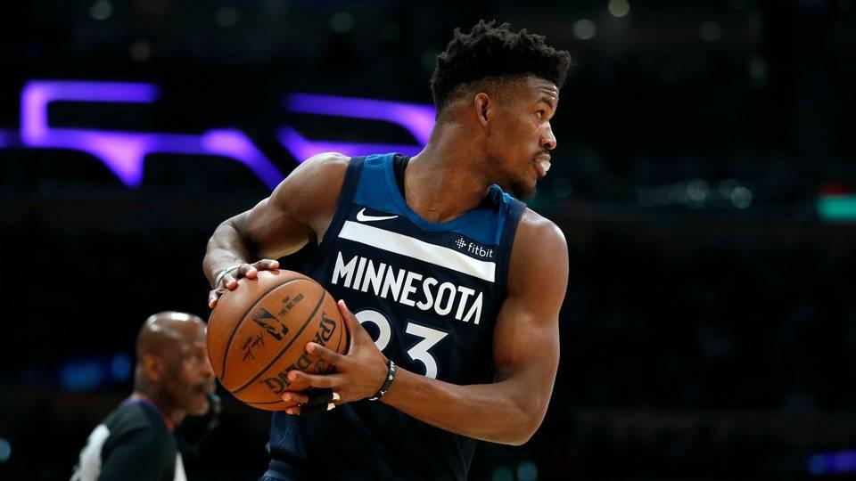 Jimmy Butler Minnesota Timberwolves 25122017