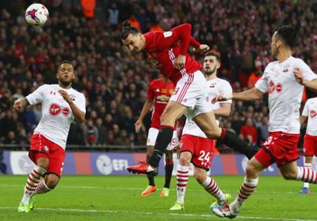 Ibra brace fires United to League Cup