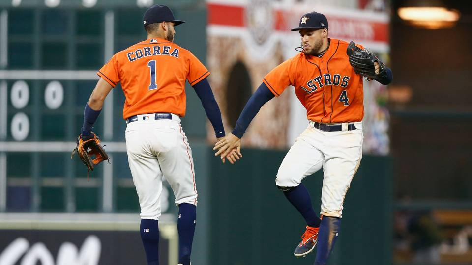 Carlos Correa Houston Astros vs Boston Red Sox MLB 01062018