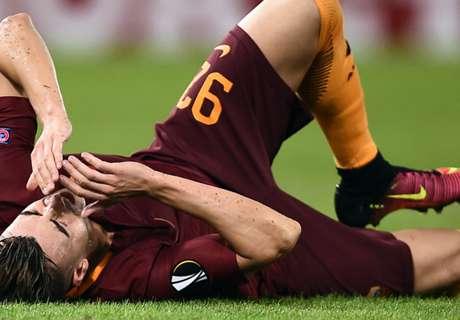 Roma se durmió y empató 3-3
