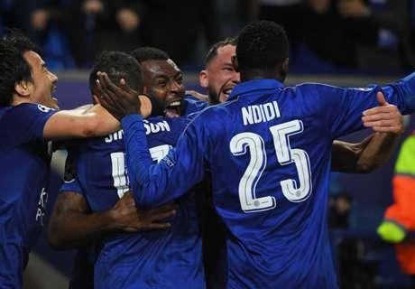 Leicester hace historia en Champions
