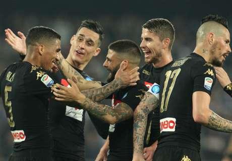 Napoli no tuvo problemas con Udinese