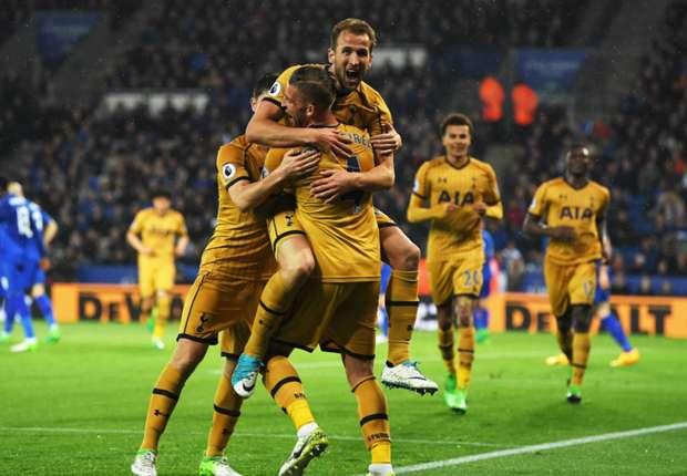 Tottenham fortalece el subcampeonato con la paliza a Leicester