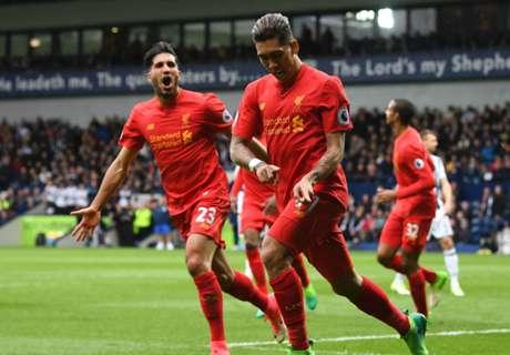 Firmino le dio los tres puntos a Liverpool