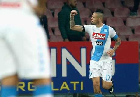 Napoli goleó a Inter y se prende