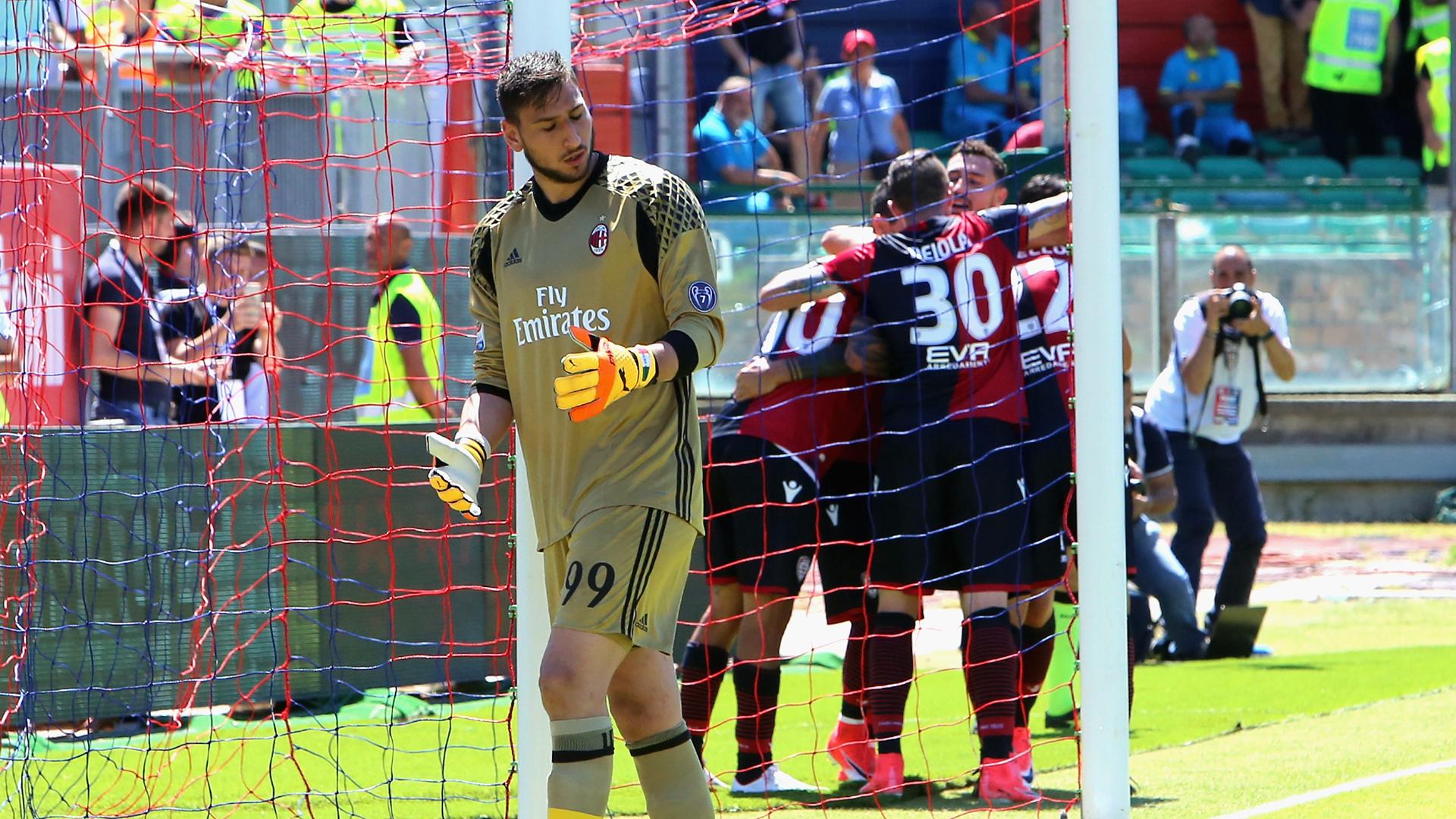 Cagliari 2-1 AC Milan: Milan cerró la temporada con derrota