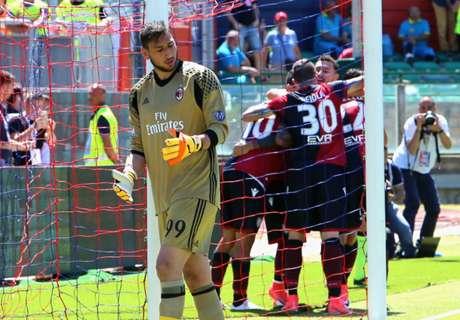 Milan Tutup Musim Dengan Kekalahan