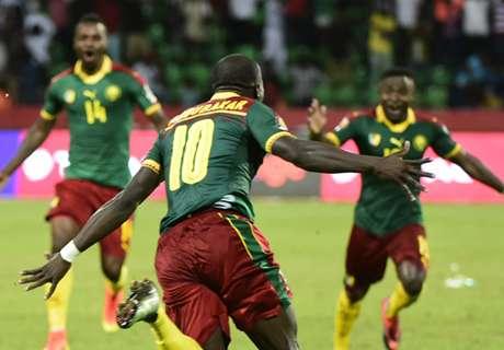 Los semifinalistas de la Copa África