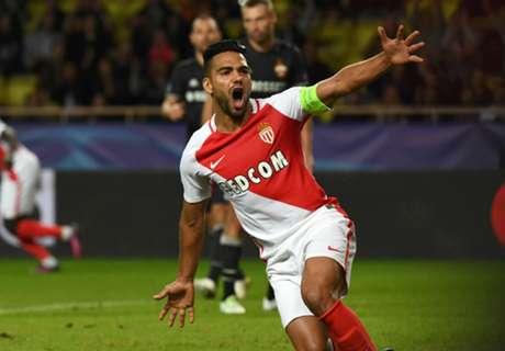 Falcao brilla en el triunfo de Monaco
