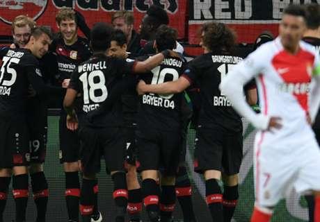 Leverkusen le quitó el invicto a Monaco