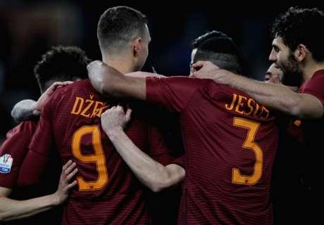 Roma vapuleó a Sampdoria