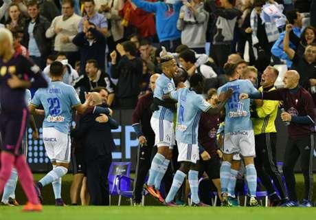 Ter Stegen mistake hands Celta victory