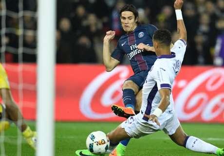 PSG apenas empató con Toulouse