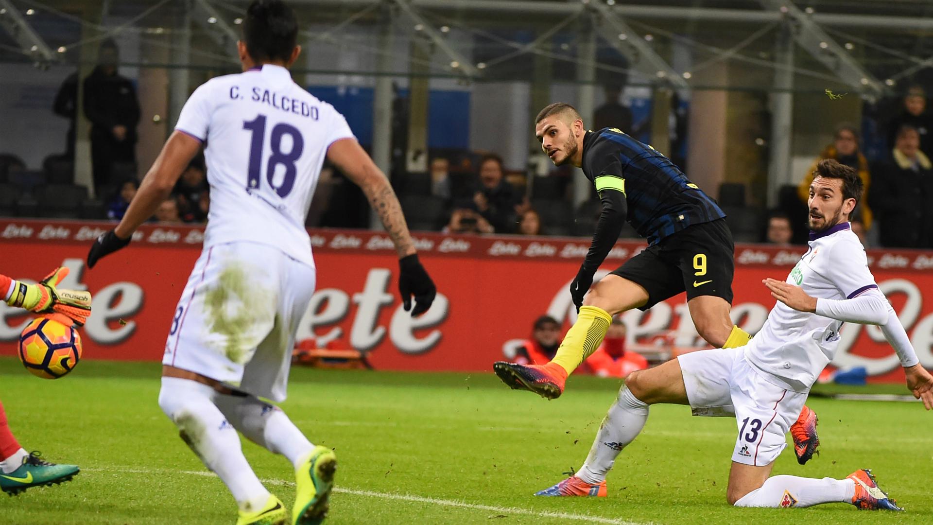 Icardi anotó dos en la goleada de Inter