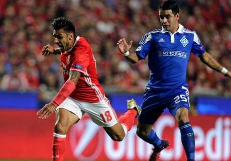 Salvio le dio el triunfo a Benfica