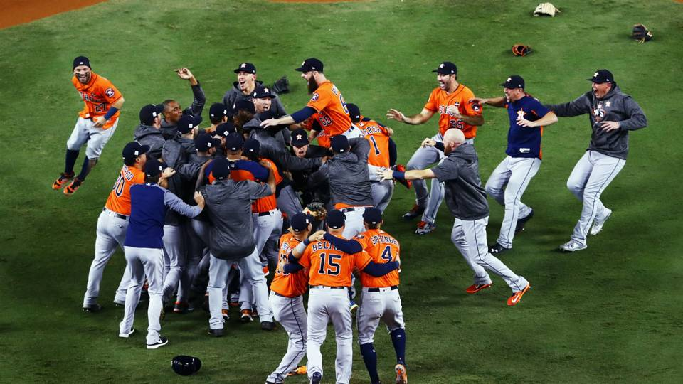 Astros de Houston Serie Mundial MLB 01112017