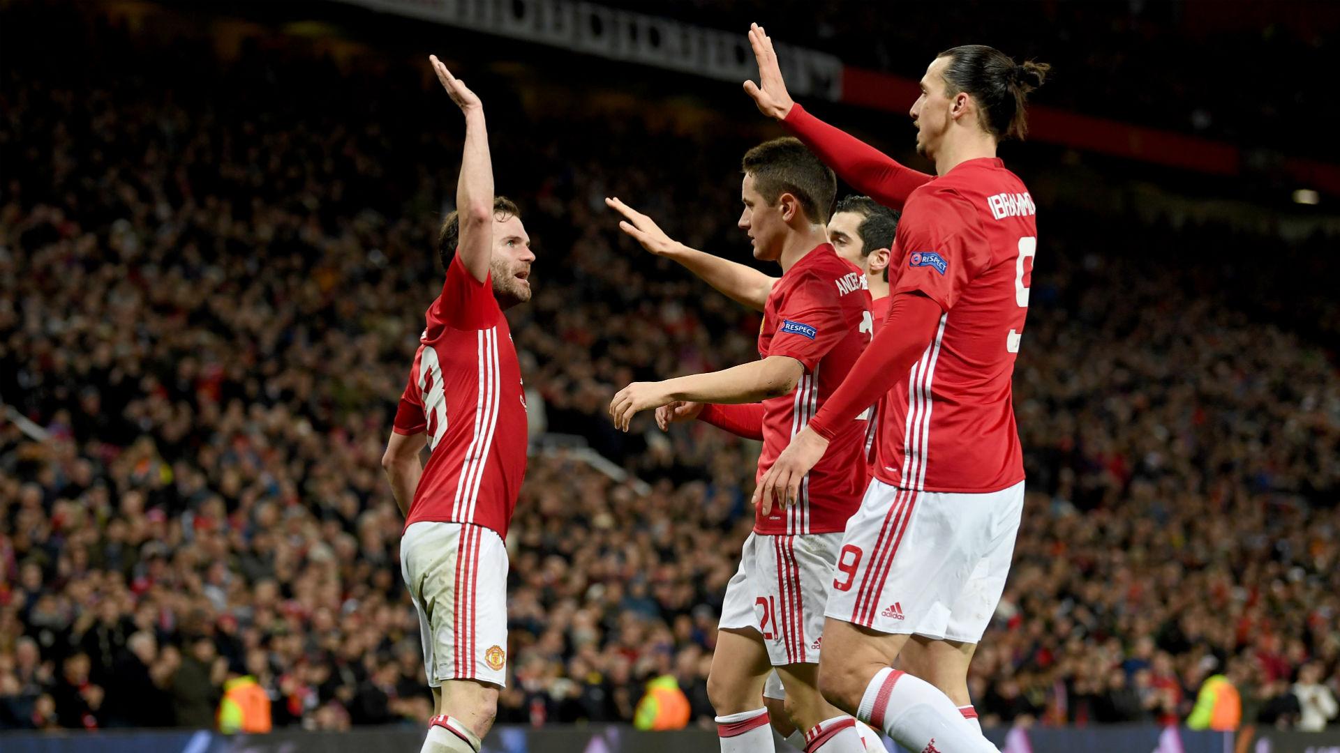 Manchester United cumplió y avanzó contra Rostov en Europa League