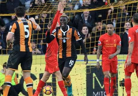 Liverpool perdió la chance de ser escolta