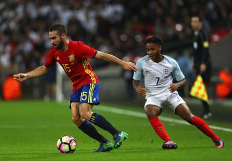 Spain late show spoils England display