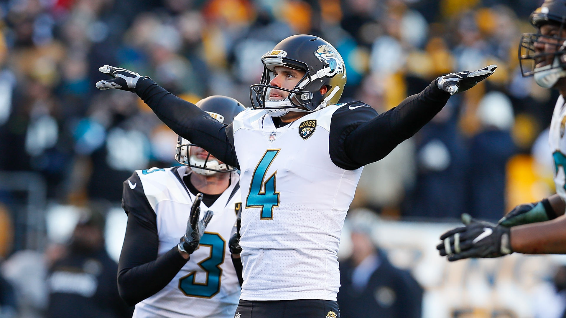 Jaguars sign K Josh Lambo to reported 4-year, $15.5M extension