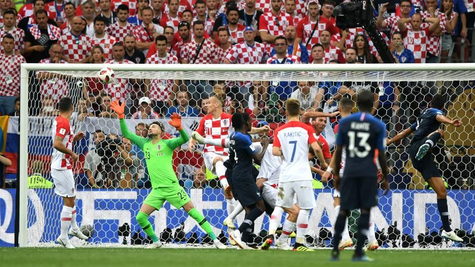 France v Croatia FIFA World Cup Russia Final 15072018