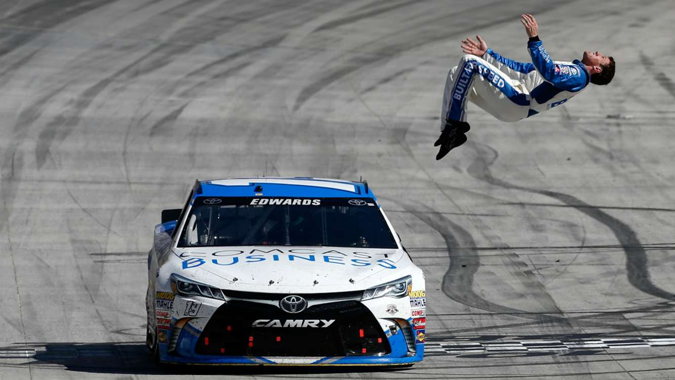 Carl Edwards steps away; is Dale Earnhardt Jr.'s brain to blame?