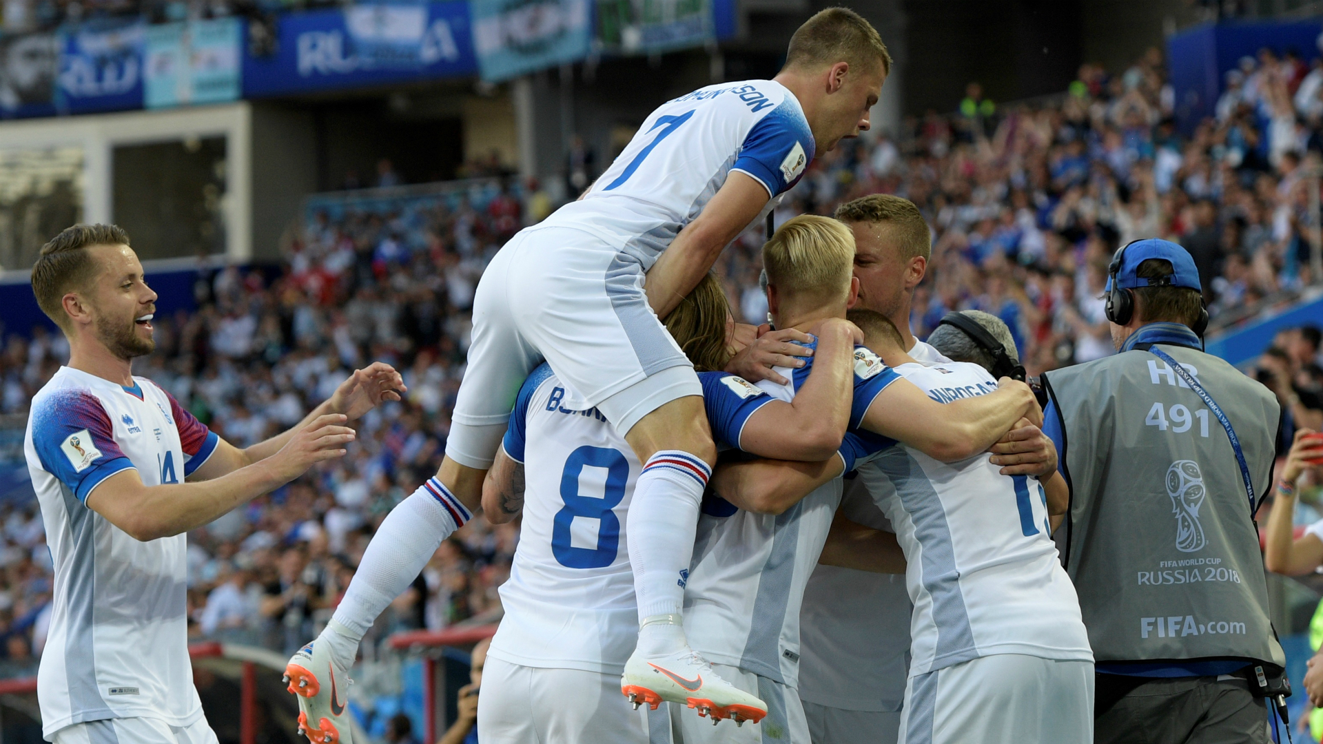 Image result for iceland against argentina