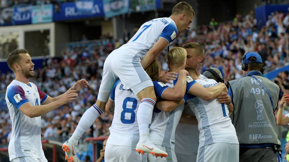 Iceland vs Argentina World Cup 2018 06162018