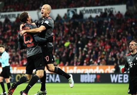 Bayern le mete presión al Leipzig