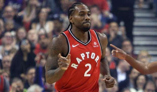 Kawhi Leonard Cleveland Cavaliers v Toronto Raptors 17102018