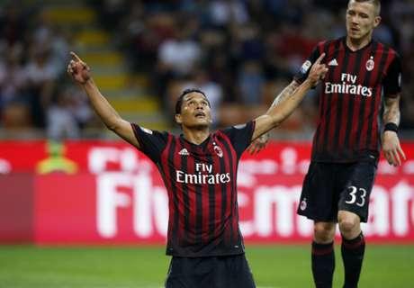 Bacca anotó y Milan remontó