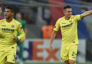 Santos Borré Villarreal v Steaua Bucarest Europa League 29092016