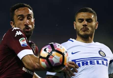 Inter frenó su racha en Turín