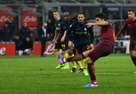 Roma ganó en casa de Inter y no se rinde