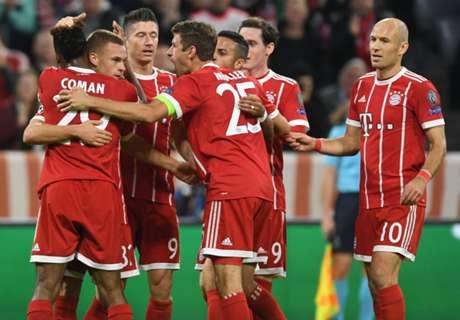 Bayern Menang Mudah Atas Celtic