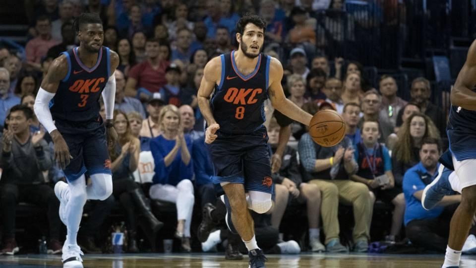 Alex Abrines Oklahoma City Thunder  NBA 21102018