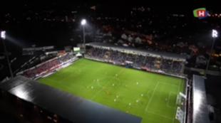 Haugesund Stadion luft