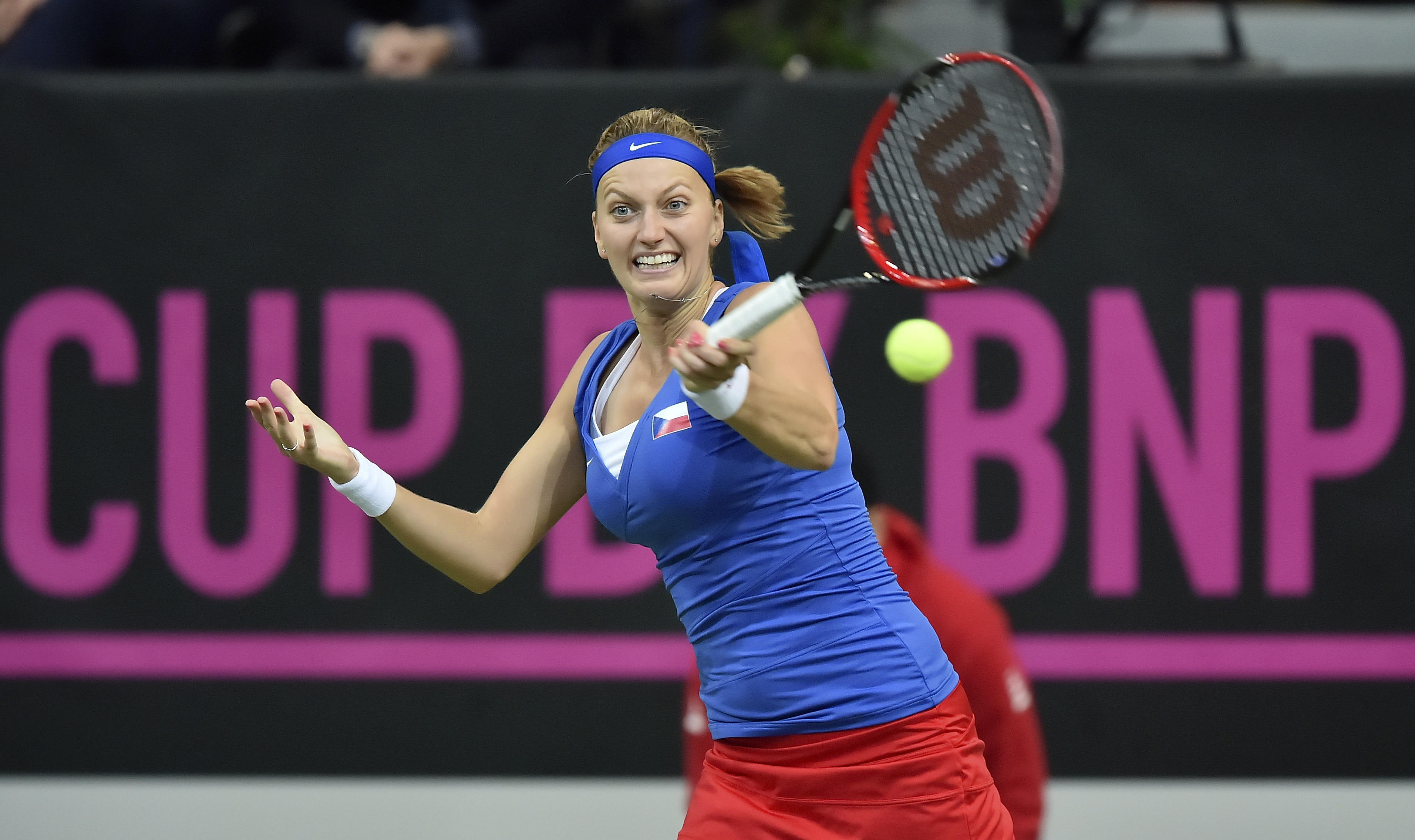 Watch Petra Kvitova's comeback against Anastasia Pavlyuchenkova
