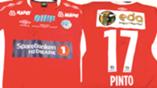 Pinto og Rydje auksjon drakter cupfinale