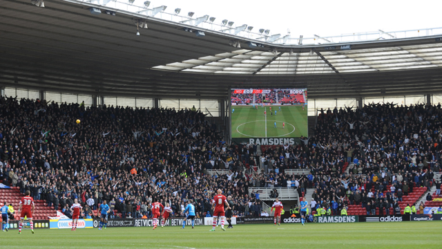 MIDDLESBROUGH AWAY: TICKET DETAILS