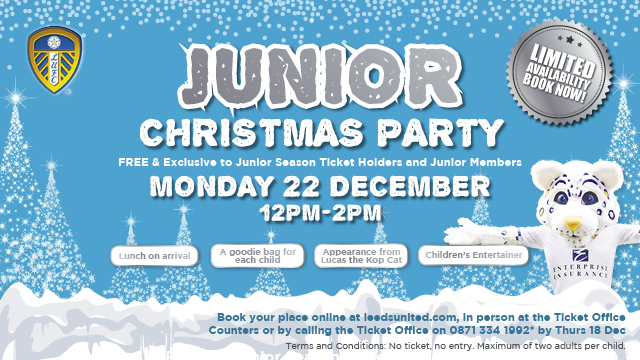JUNIOR CHRISTMAS PARTY